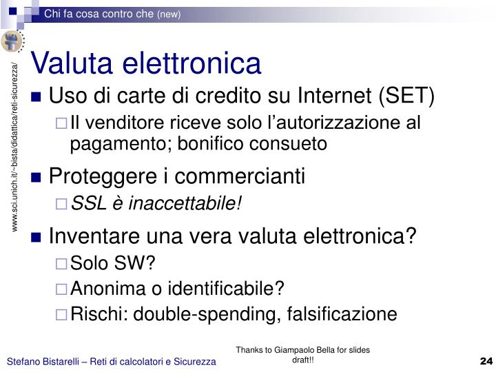 Valuta elettronica