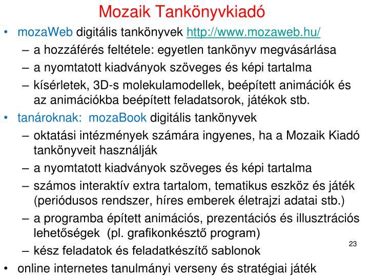 Mozaik Tankönyvkiadó