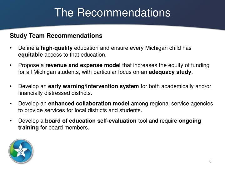 The Recommendations