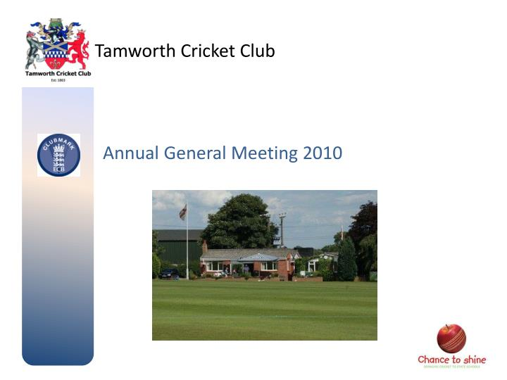 tamworth cricket club