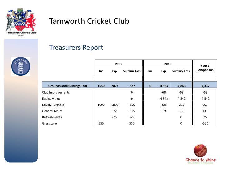 Tamworth Cricket Club