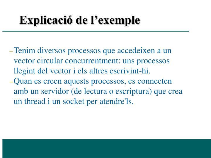 Explicació de l'exemple