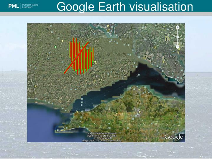 Google Earth visualisation