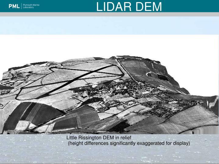 LIDAR DEM