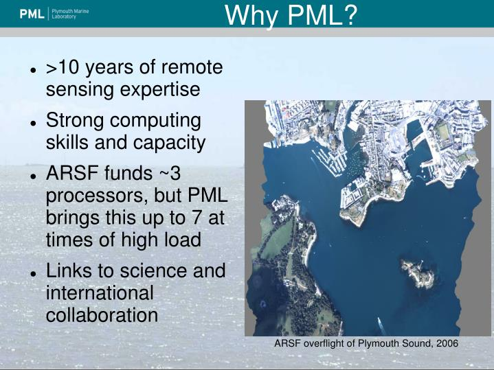 Why PML?