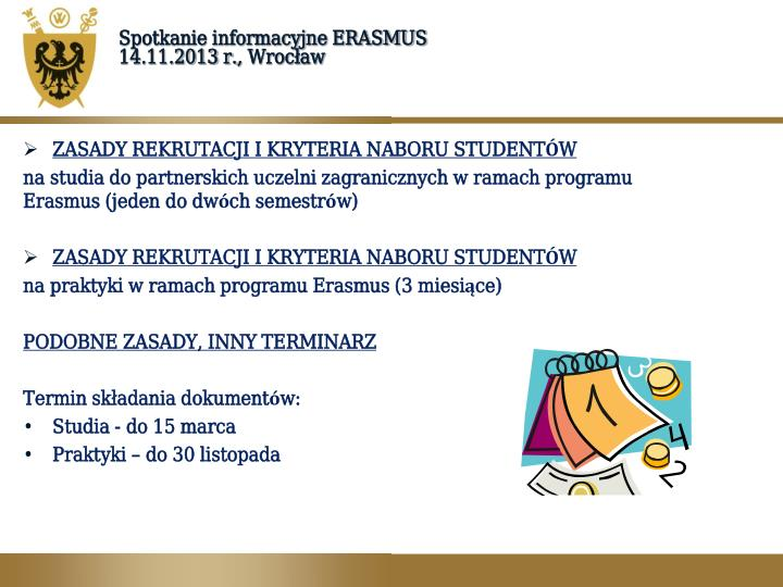 spotkanie informacyjne Gliwice