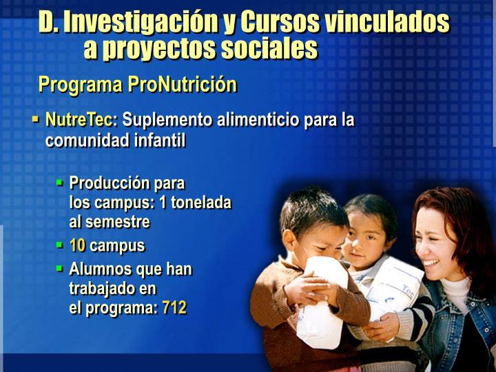 Programa ProNutrición