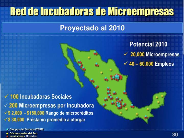 Red de Incubadoras de Microempresas
