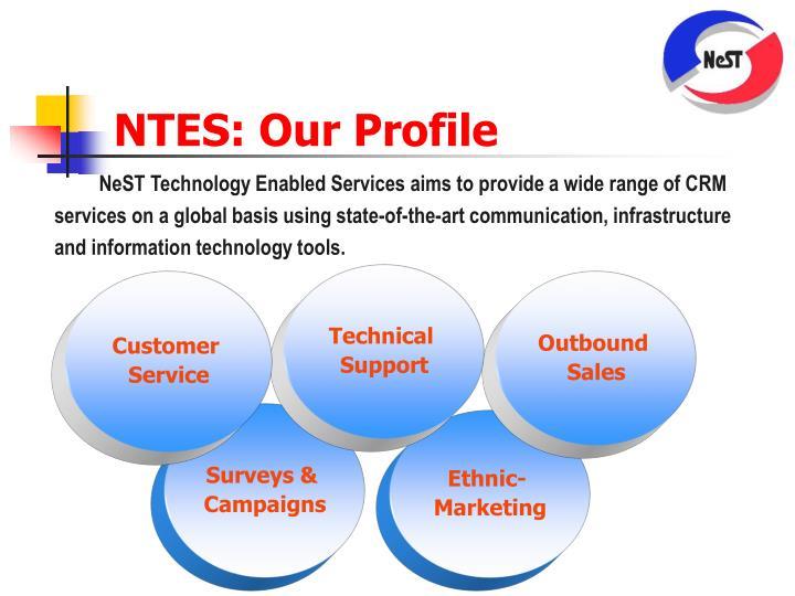 NTES: Our Profile