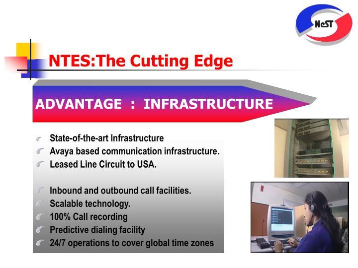 NTES:The Cutting Edge