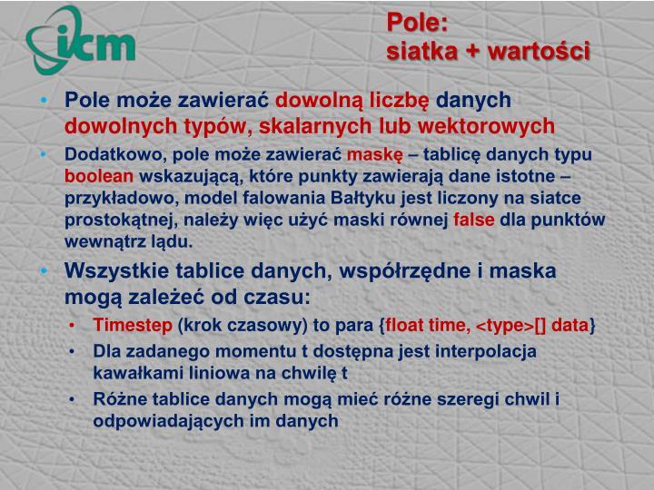Pole: