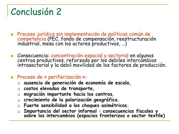Conclusión 2