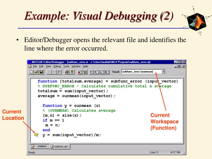 Example: Visual Debugging (2)