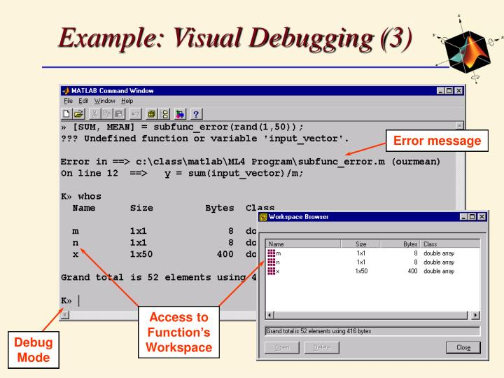 Example: Visual Debugging (3)