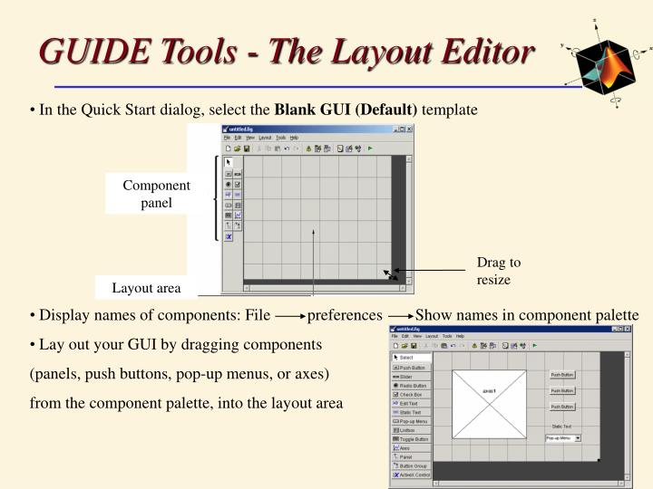 GUIDE Tools - The Layout Editor
