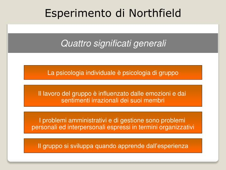 Esperimento di Northfield
