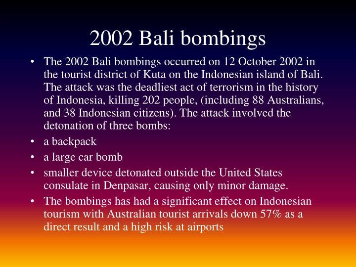 2002 Bali bombings
