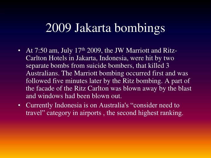2009 Jakarta bombings