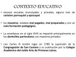 contexto educativo