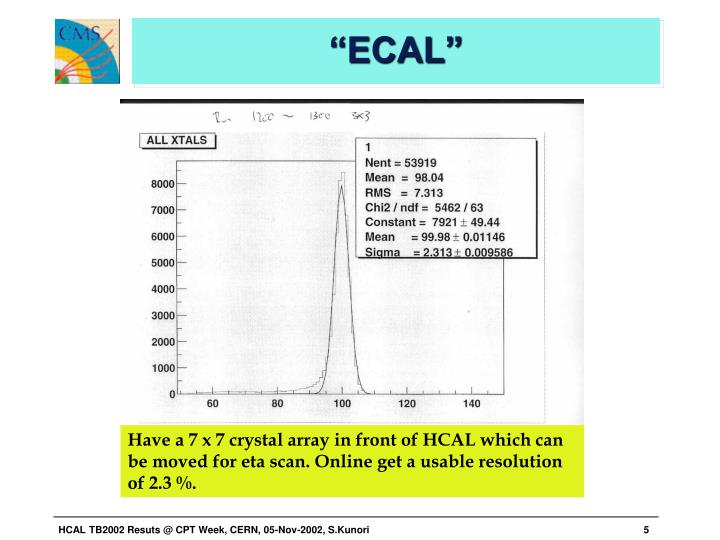 """ECAL"""