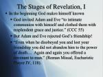 the stages of revelation i