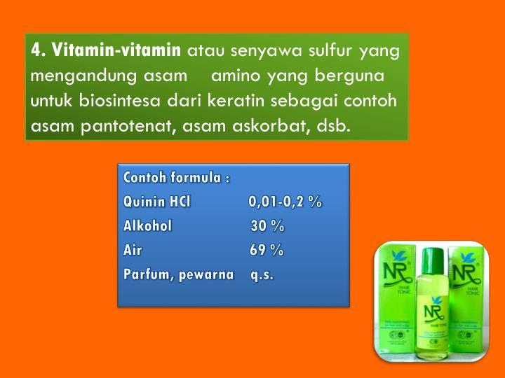 4. Vitamin-vitamin
