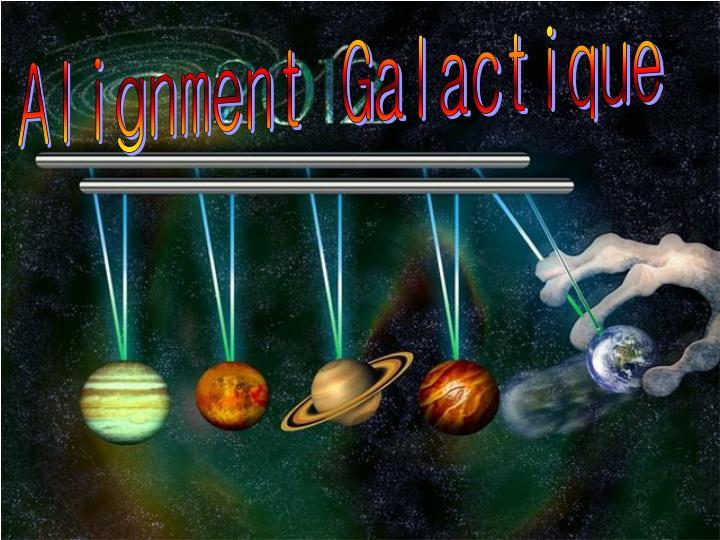 Alignment Galactique