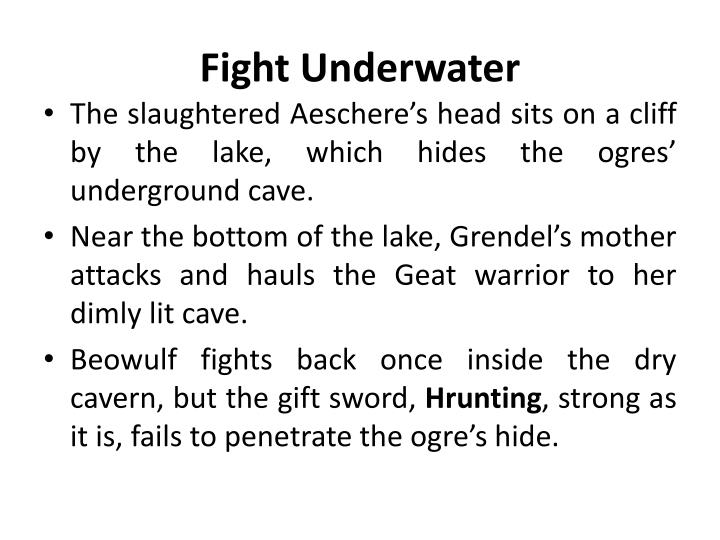Fight Underwater