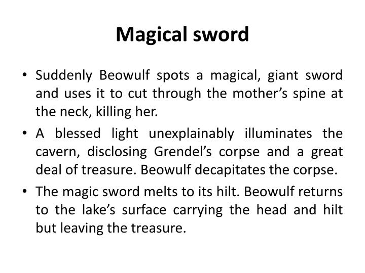 Magical sword