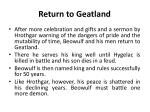 return to geatland