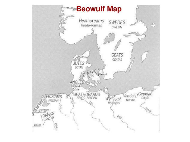 Beowulf Map