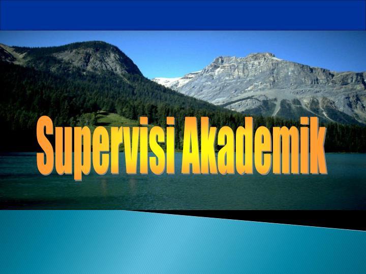 Supervisi Akademik