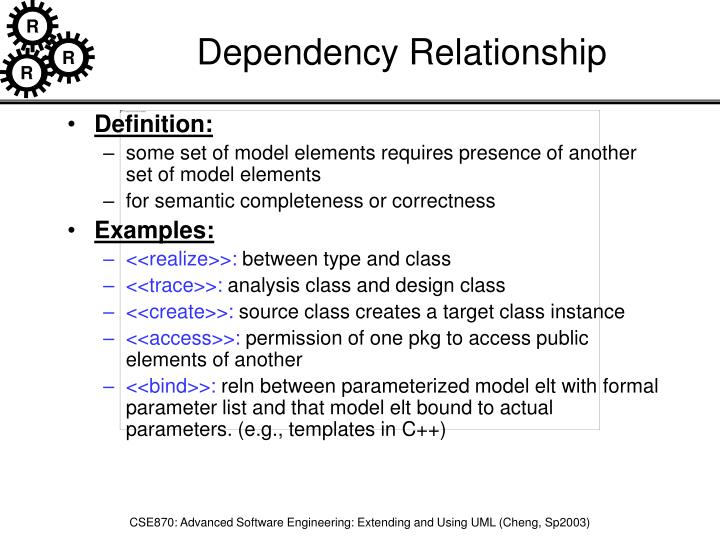 Dependency Relationship