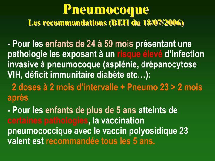 Pneumocoque