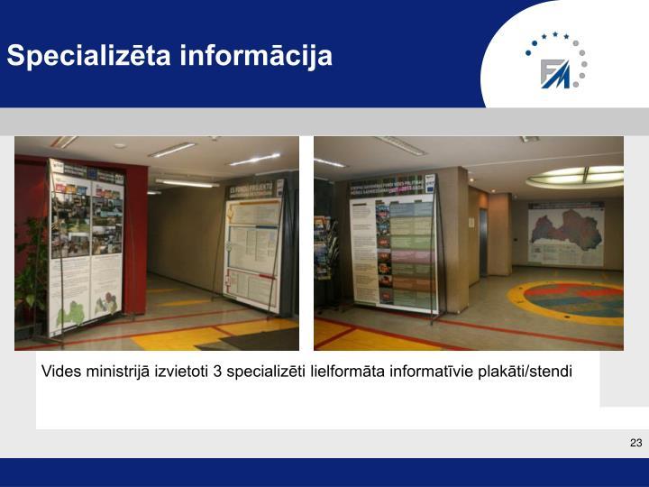 Specializēta informācija