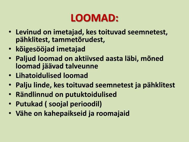LOOMAD: