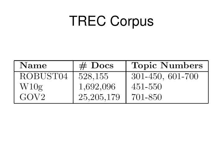 TREC Corpus