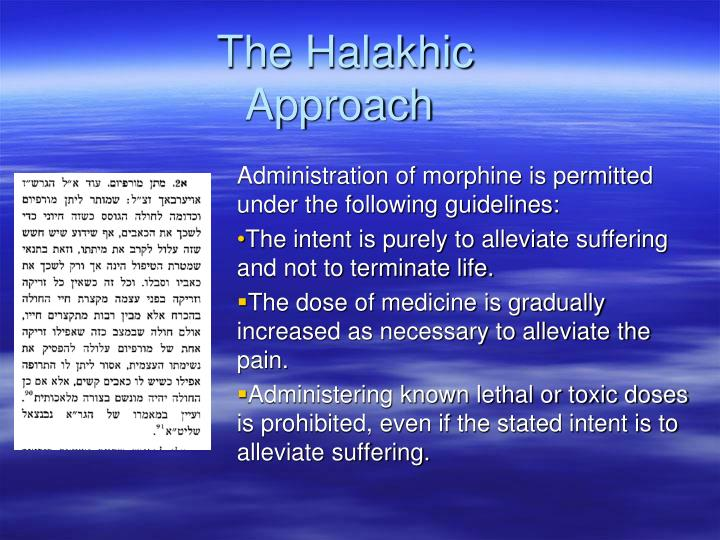 The Halakhic Approach