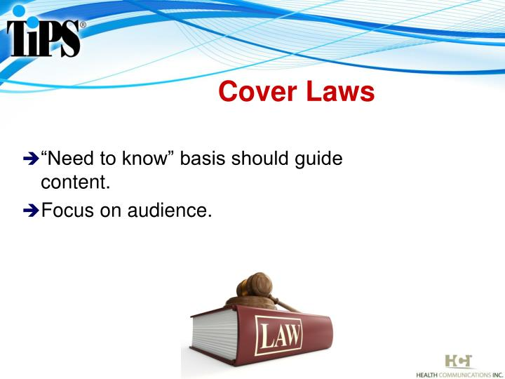 Cover Laws