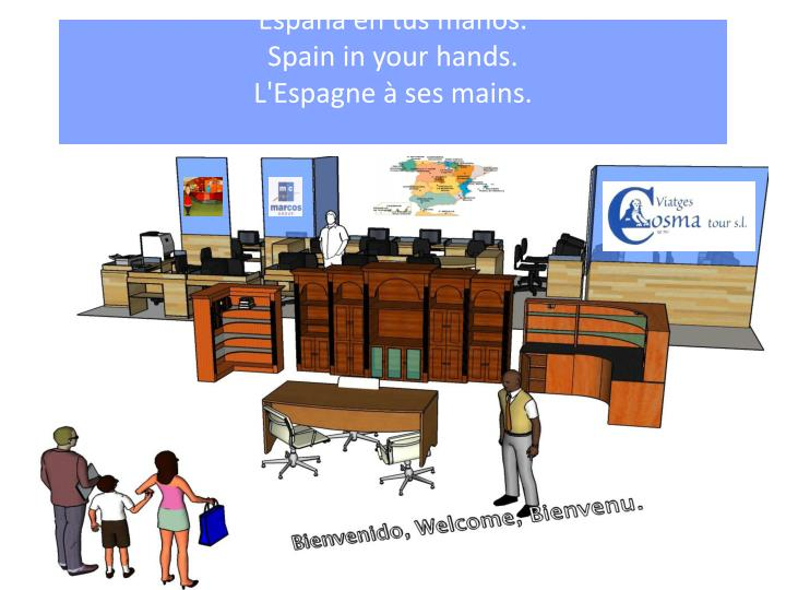 Espa a en tus manos spain in your hands l espagne ses mains
