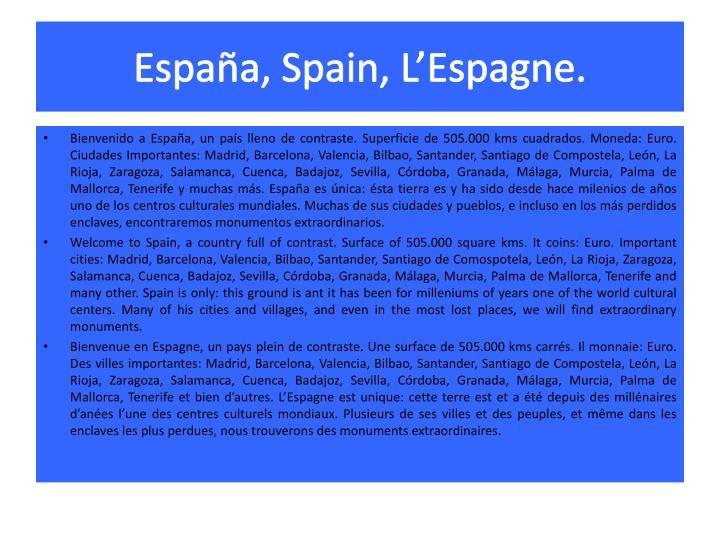España,