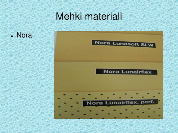 Mehki materiali