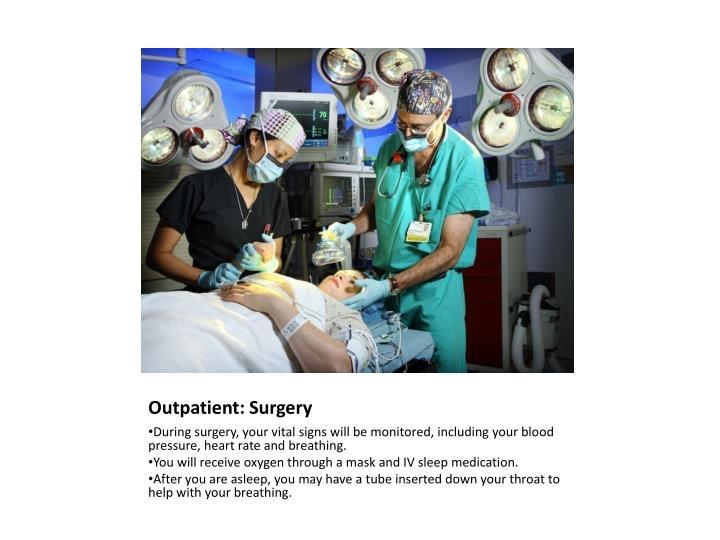Outpatient: Surgery
