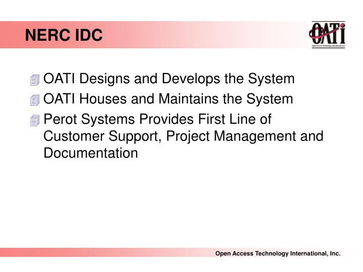 NERC IDC