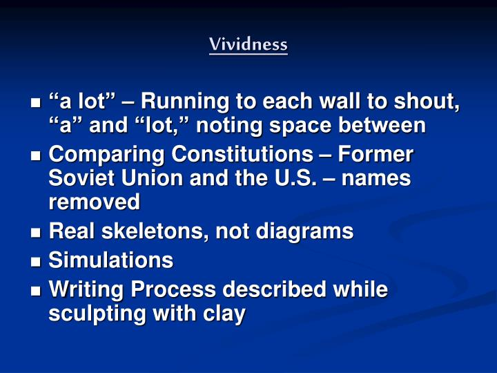 Vividness