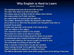 why english is hard to learn author unknown