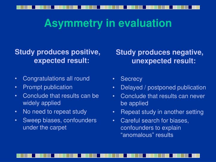 Study produces positive, expected result: