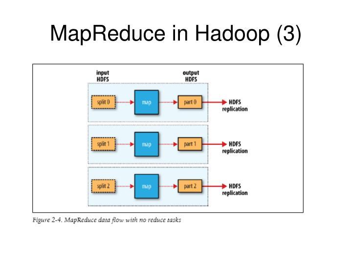 MapReduce in Hadoop (3)