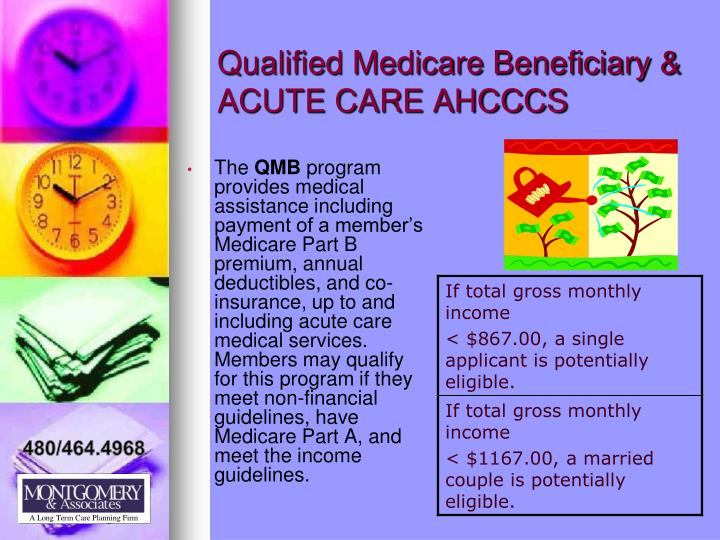 Qualified Medicare Beneficiary &