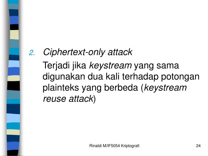 Ciphertext-only attack